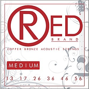 Red-Strings-Copper-Bronze-Acoustic-Guitar-Strings---Medium-Standard