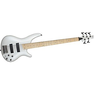 Ibanez-SR305M-5-String-Bass-Guitar-Pearl-White