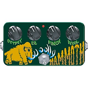 Zvex-Hand-Painted-Woolly-Mammoth-Fuzz-Bass-Effect-Pedal-Standard