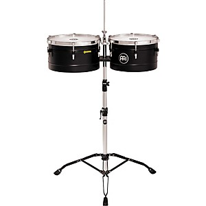 Meinl-Floatune-Steel-Timbales-Black