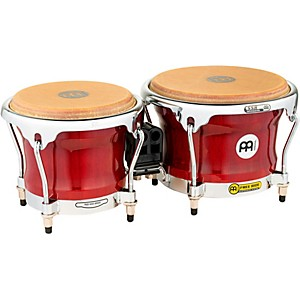 Meinl-Free-Ride-Series-FWB400-Wood-Bongos-7-x8-5--Cherry-Red