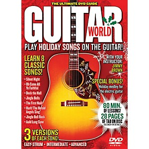 Alfred-Guitar-World-Play-Holiday-Songs-on-the-Guitar--DVD--Standard
