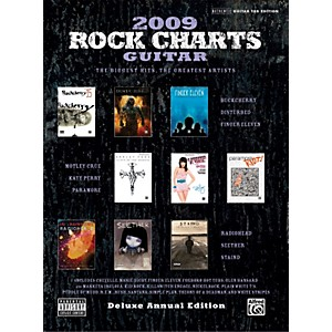 Alfred-Rock-Charts-2009-Deluxe-Annual-Edition-Guitar-Tab-Book-Standard