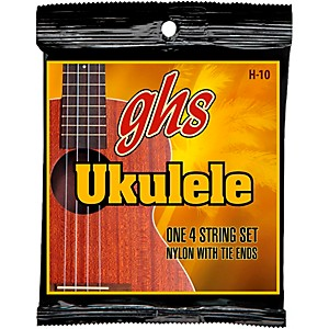 GHS-H-10--Hawaiian-Ukulele-Black-Nylon-Strings-Standard