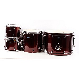 Sound-Percussion-Pro-5-Piece-Shell-Pack-with-Chrome-Hardware-Wine-Red-888365062884