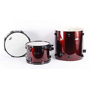 Sound-Percussion-Pro-5-Piece-Drum-Shell-Pack-with-Black-Hardware-Wine-Red-886830928697