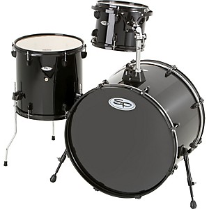 Sound-Percussion-Pro-3-Piece-Double-Bass-Add-On-Pack--Black-Hoops-and-Lugs--Black