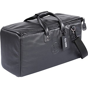 Gard-10-MLK-Suspension-Super-Triple-Leather-Trumpet-Bag-10-MSK-Black-Synthetic-w--Leather-Trim