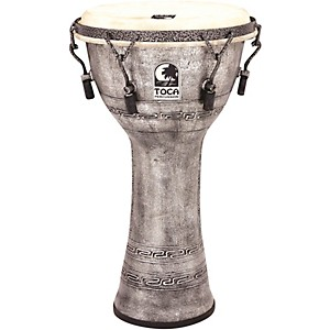 toca-Freestyle-Antique-Finish-Djembe-10-inch-Silver
