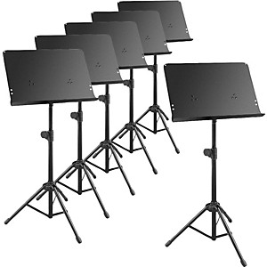 Musician-s-Gear-Deluxe-Music-Stand-6-Pack-Standard