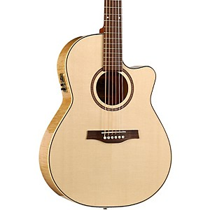 Seagull-Performer-Cutaway-Folk-QI-Acoustic-Electric-Guitar-Natural