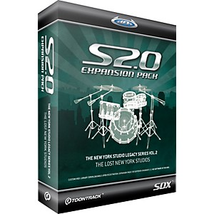 Toontrack-New-York-Studio-Legacy-Series-Vol-2-SDX-Sample-Collection-for-Superior-Drummer-2-0-Standard
