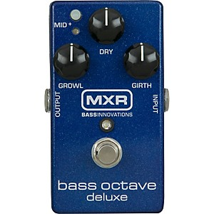 MXR-M288-Bass-Octave-Deluxe-Effects-Pedal-Blue-Sparkle