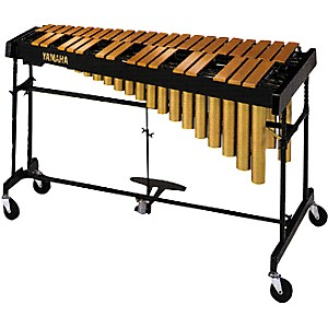 Yamaha-YVRD-2700GC-Gold-Intermediate-Vibraphone-With-Multi-Frame-II-Stand-and-Cover-582355-Standard