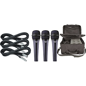 Electro-Voice-Cobalt-7-Three-Pack-with-Cables---Bag-Standard