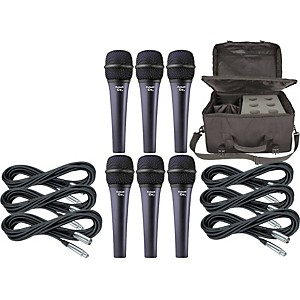 Electro-Voice-Cobalt-7-Six-Pack-with-Cables---Bag-Standard