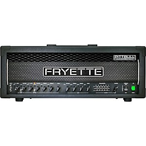 Fryette-Pittbull-Hundred-CLX-100W-Masterbuilt-Tube-Guitar-Amp-Head-Black