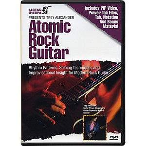 Music-Sales-Guitar-Sherpa-Presents-Trey-Alexander--Atomic-Rock-Guitar--DVD--Standard