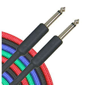 Musician-s-Gear-Braided-Instrument-Cable-1-4--30-Ft-2-Pack-Standard