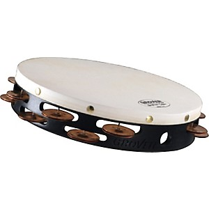 Grover-Pro-Synthetic-Head-Tambourine-10-inch-Double-Row-Beryllium-Copper-Jingles
