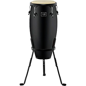 Schalloch-Linea-50-Conga-with-Stand-Black-Hardware-Black-10-Inch-Quinto