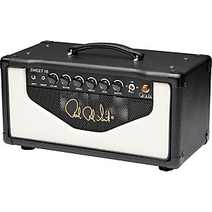 PRS-Sweet-16-16W-Tube-Guitar-Amp-Head-Black-and-White
