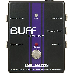 Carl-Martin-Buff-Deluxe-Boost-Guitar-Effects-Pedal-Standard