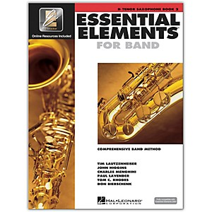 Hal-Leonard-Essential-Elements-for-Tenor-Saxophone--Book-2-with-CD--Standard