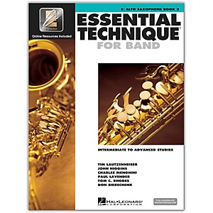 Hal-Leonard-Essential-Technique-2000-Eb-Alto-Saxophone--Book-3-with-CD--Standard