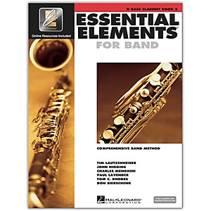 Hal-Leonard-Essential-Elements-for-Bb-Bass-Clarinet--Book-2-with-CD--Standard