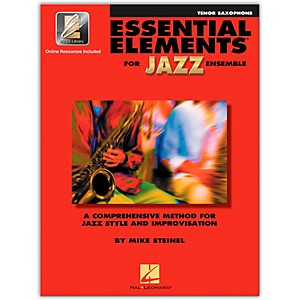 Hal-Leonard-Essential-Elements-for-Jazz-Ensemble-for-Tenor-Saxophone--Book-with-2-CDs--Standard