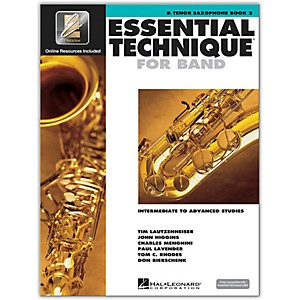 Hal-Leonard-Essential-Technique-2000-Tenor-Saxophone--Book-3-with-CD--Standard