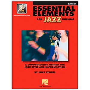 Hal-Leonard-Essential-Elements-Jazz-Ensemble-for-Clarinet--Book-with-2-CDs--Standard