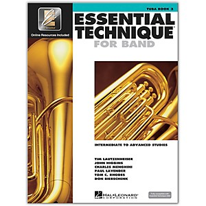 Hal-Leonard-Essential-Technique-2000-for-Tuba--Book-3-with-CD--Standard