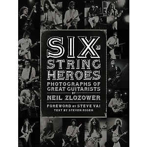Chronicle-Books-Six-String-Heroes--Photographs-of-Great-Guitarists-by-Neil-Zlozower--Book--Standard