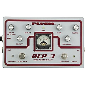 Plush-REP-3-Solid-State-Delay-Guitar-Effects-Pedal-Standard