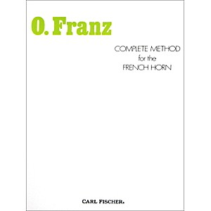 Carl-Fischer-Complete-Method-for-the-French-Horn-by-Oscar-Franz-Standard