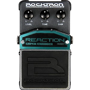 Rocktron-Reaction-Super-Charger-Overdrive-Guitar-Effects-Pedal-Standard