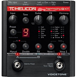 TC-Helicon-VoiceTone-Harmony-G-XT-Vocal-Harmony-and-Effects-Pedal-for-Guitarists-Standard