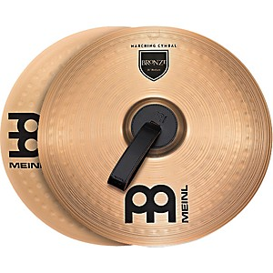 Meinl-Bronze-Marching-Medium-Cymbal-Pair-14-inch