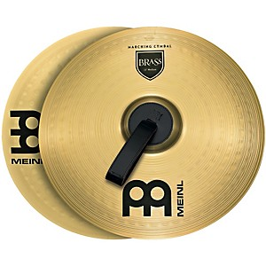Meinl-Brass-Marching-Medium-Cymbal-Pair-13-inch