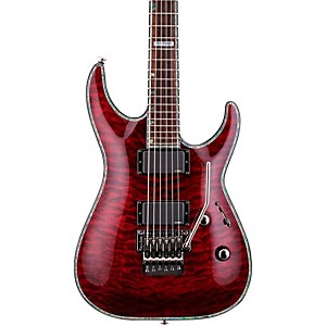 ESP-LTD-Deluxe-H-1001QM-Floyd-Rose-Electric-Guitar-See-Thru-Black-Cherry