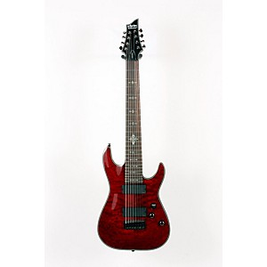 Schecter-Guitar-Research-Damien-Elite-8-String-Electric-Guitar-Crimson-Red-888365115023