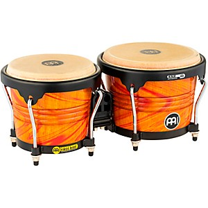 Meinl-Free-Ride-Designer-Series-Wood-Bongo-Set-AMBER-FLAME-6-3-4-inch-and-8-inch