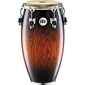Meinl-Woodcraft-Conga-Drum-ANTIQUE-MAHOGANY-BURST-11-3-4-inch