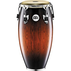 Meinl-Woodcraft-Quinto-Conga-Drum-ANTIQUE-MAHOGANY-BURST-11-inch