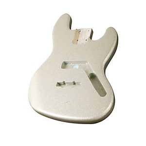 Mighty-Mite-MM2703SPRKL-Jazz-Bass-Replacement-Body---Sparkle-Finish-Silver