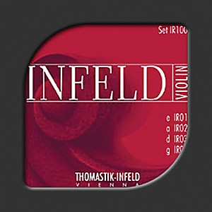 Thomastik-Infeld-Red-Series-4-4-Size-Violin-Strings-4-4-Size-Gold-Plated-Steel-E