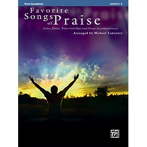 Alfred-Favorite-Songs-of-Praise--Tenor-Sax-Version--Standard