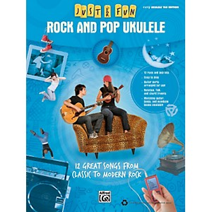 Alfred-Just-for-Fun--Rock-and-Pop-Ukulele--Book--Standard